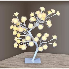 Strom MagicHome Rose Tree, 45 cm, 48xLED, 3xAA